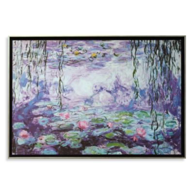 Claude Monet Wall Art Framed Art-Wall Decor