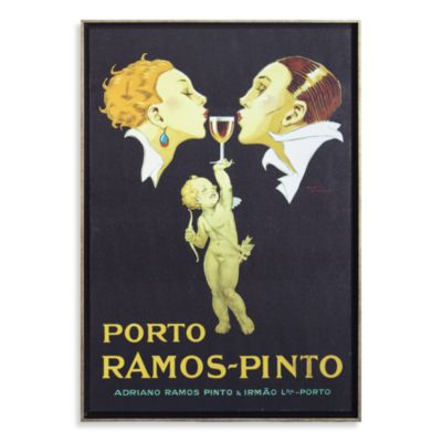 Porto Ramos-Pinto by Rene Vincent Wall Art