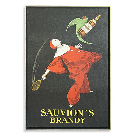 Sauvion's Brandy by Leonetto Cappiello Wall Art