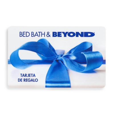 Gift with Blue Bow Gift Card $50 in Spanish
