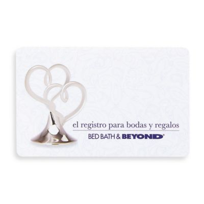 Bridal Hearts $50 Gift Card in Spanish