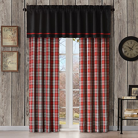 Williamsport Plaid Window Valance
