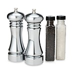 Olde Thomspon Pepper Mill and Salt Grinder Set in Checkmate