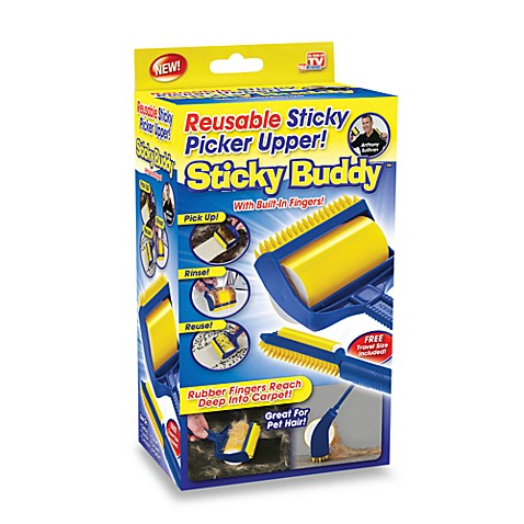 Sticky Buddy Reusable Lint Brush