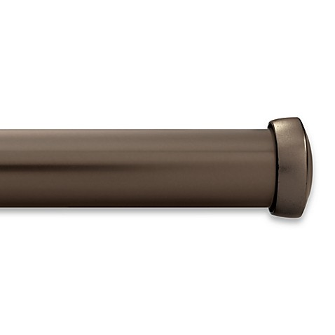 Buy Kirsch Black Curtain Rod From Bed Bath Beyond