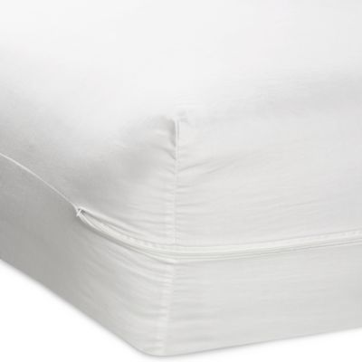 Zippered Mattress Cover with Ultra Fresh Treatment, 100% Cotton, 200 Thread Count