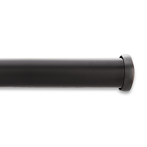 Buy Kirsch Black Curtain Rod From Bed Bath Amp Beyond