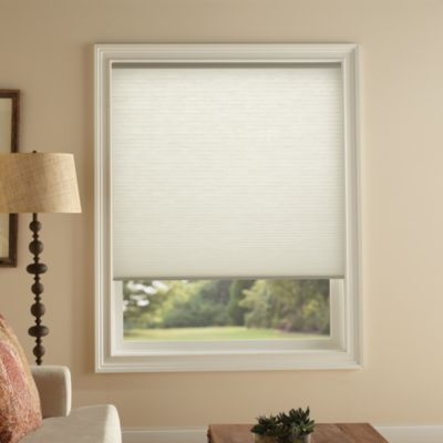 Kirsch Honeycomb 23-Inch W x 72-Inch L Light Filtering Window Shade in Snow