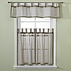 Eco Leno Window Curtain Tiers, 100% Cotton - Sage
