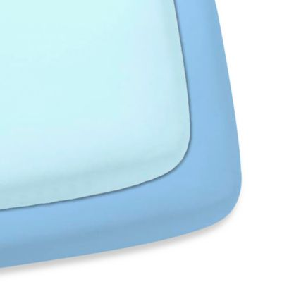 Gerber® 2-Pack Woven Crib Sheet in Blue