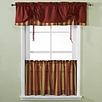 Versa-Tie® Lisa Stripe Window Curtain Tiers