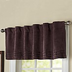 Oslo Maroon Window Valance