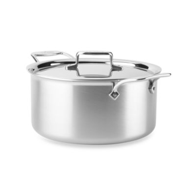 All-Clad d5 Brushed Stainless Steel 8-Quart Covered Stockpot