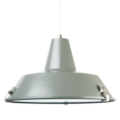 Leitmotiv by Present Time Grey Dock Pendant Lamp