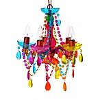 Silly Gypsy Chandelier Lamp Multi-Color Small 5-Light
