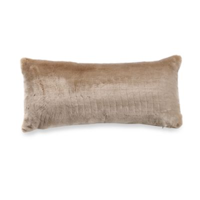 Cheetah Gold Oblong Toss Pillow