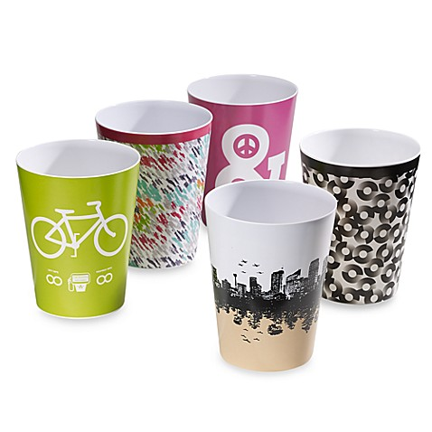 Threadless Wastebaskets