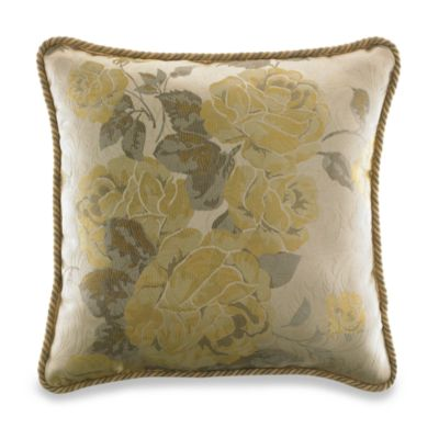 Croscill Solitaire Square Toss Pillow