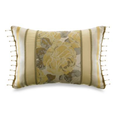 Croscill Solitaire Boudoir Toss Pillow