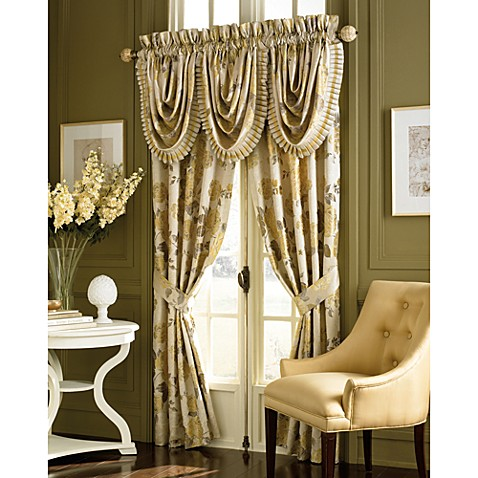 Croscill Solitaire Waterfall Valance