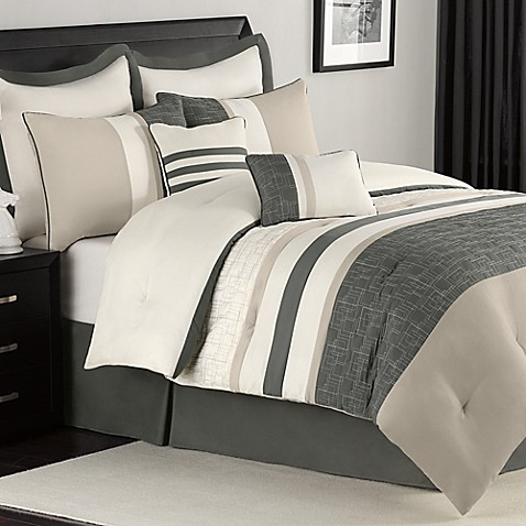Burke Eight-Piece California King Bedding Ensemble