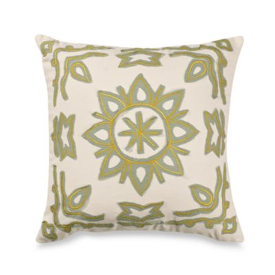 Vue™ Kieran Embroidered Square Toss Pillow