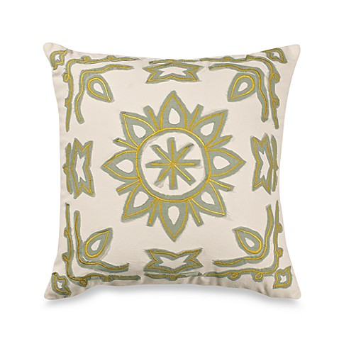Vue™ Kieran Embroidered Square Throw Pillow