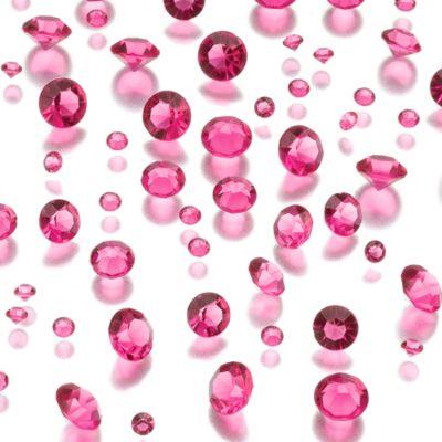 Lillian Rose™ Diamond Confetti in Hot Pink