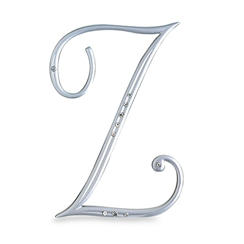 Lillian Rose™ Silver Letter