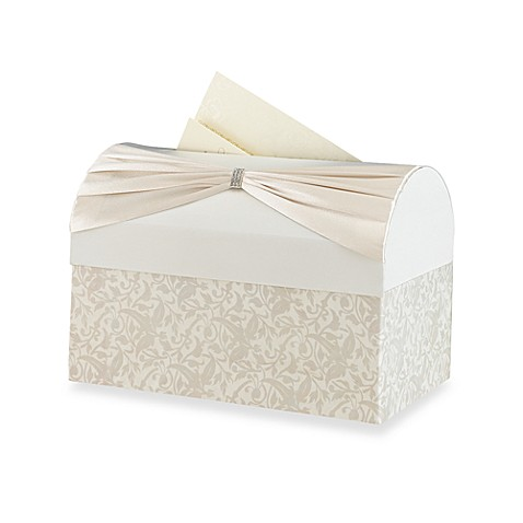 Lillian Rose™ Card Box in Ivory