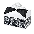 Lillian Rose™ Card Box in Black and White