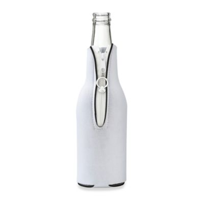 White Bottle Cover with Diamond Ring for Her