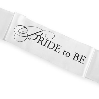 "Bachelorette ""Bride to Be"" Sash"
