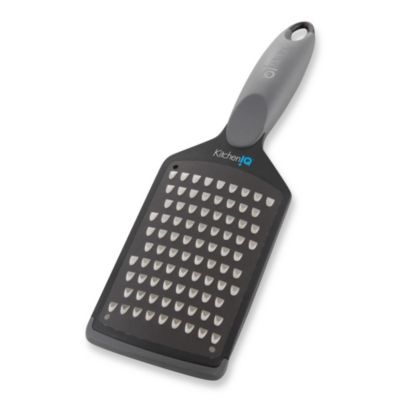 KitchenIQ™ Charcoal Coarse Grater