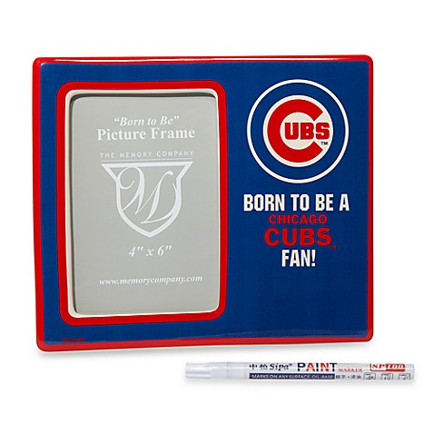 Chicago Cubs Memory Youth Personalized Frame