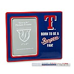 Texas Rangers Memory Youth Personalized Frame