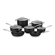 Cuisinart® DS Induction Ready Hard Anodized 12-Piece Cookware Set