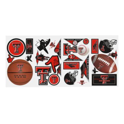Texas Tech Peel & Stick Wall Decals