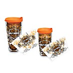 Tervis® Harley-Davidson® Bar & Shield Wrap Tumblers with Orange Lid