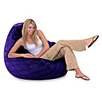 Large Purple Swirl Bean Bag Cover