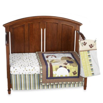 CoCalo™ Chomp and Stomp 4-Piece Crib Bedding Set