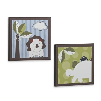 CoCaLo® Chomp and Stomp 2-Piece Wall Art