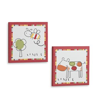 CoCaLo® Baby Farm 2-Piece Wall Art