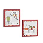 CoCalo™ Baby Farm 2-Piece Wall Art