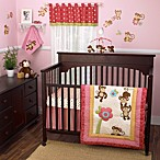 CoCalo™ Melanie The Monkey 4-Piece Crib Bedding Set & Accessories