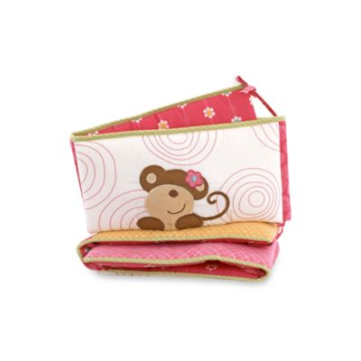 CoCalo™ Melanie The Monkey Crib Bumper
