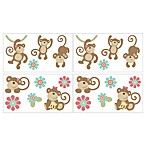 CoCalo™ Melanie The Monkey Removable Wall Appliqués
