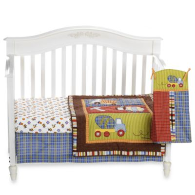CoCaLo® Road Work 4-Piece Crib Bedding Set