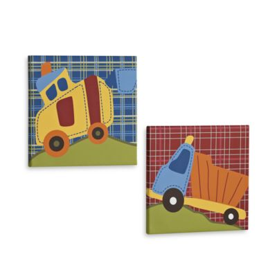 CoCalo™ Road Work 2-Piece Wall Art