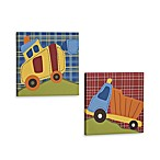 CoCaLo® Road Work 2-Piece Wall Art